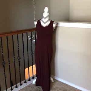 Theory Purple Maxi Dress